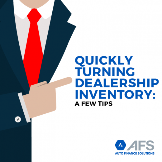 Quickly Turning Dealership Inventory: A Few Tips-AFS